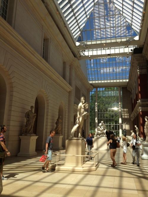 Beautiful sun filled galleries