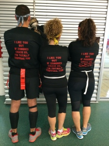 Our inspirational team shirts!