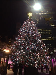 The beautiful tree at Bryant Park
