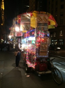 Decorated street cart